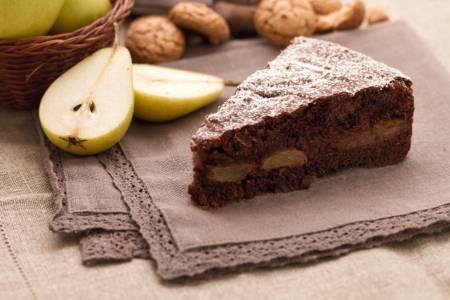 Pere con cioccolato al microonde